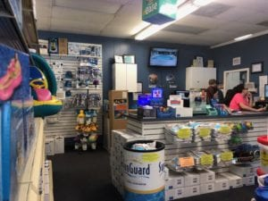 Admiral Pools Retail Store 1